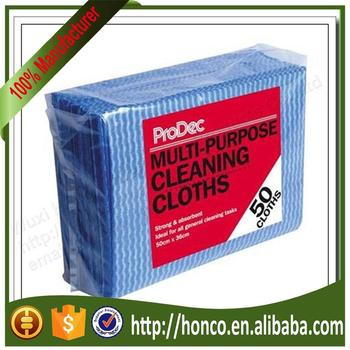 Multi purpose nonwoven cloth Spunlace Cleaning Cloth