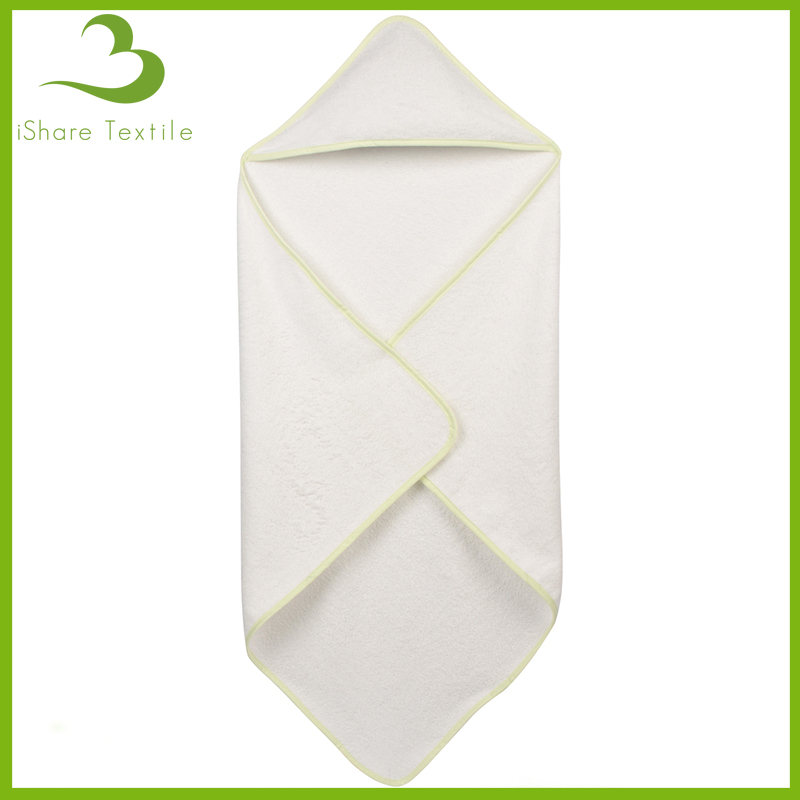 Sweet Soft Organic Cotton Hooded Baby Towel/Bamboo Baby Hooded Towel