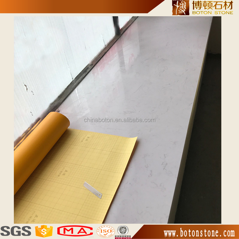 high quality Artificial stone gray flower marble window sill for sale