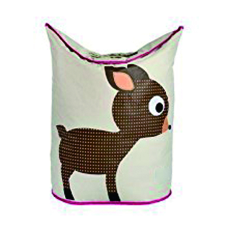 Thick Animal Laundry Basket Foldable