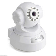 White 720P H.264 Wireless WiFi Outdoor IP Network CCTV Home Security Camera