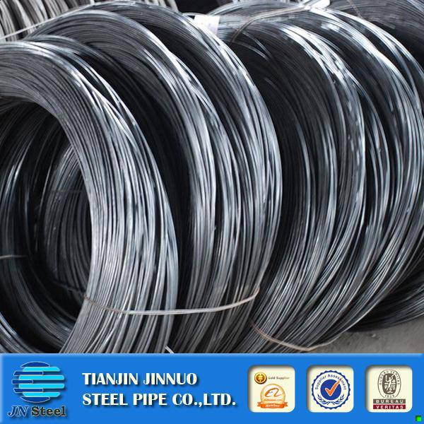 Professional earth wire galvanized steel wire for fish net gauge no 18 & 19.