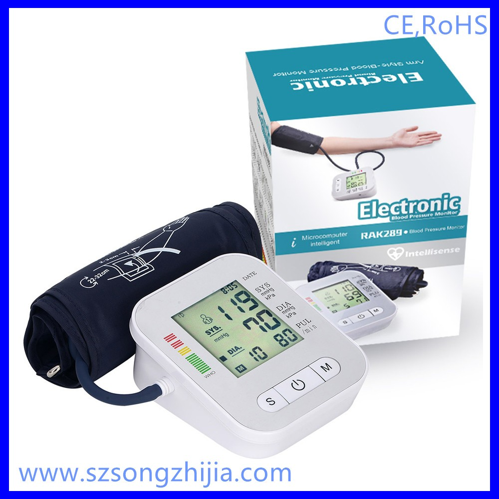 Factory price wholesale electric digital arm type blood pressure monitor bp monitor