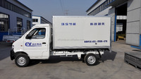 Electric Truck with container