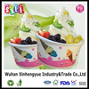 12oz disposable frozen yogurt container , single/double wall style ice cream paper cup,custom printed ice cream cups