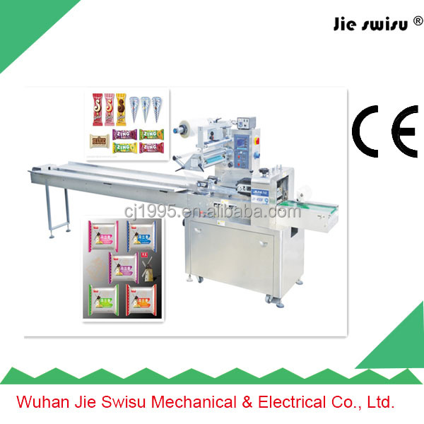 Single Row Biscuit/Cookie Horizontal Flow Packaging Machinery