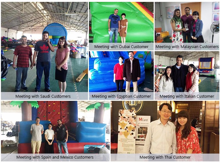 customized size inflatable amusement park giant for air game