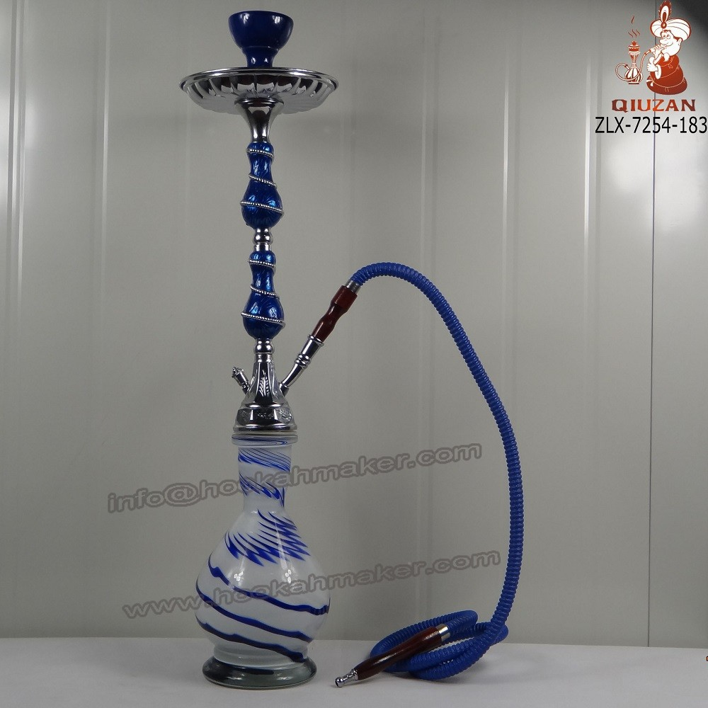 Zinc Alloy Hookah Shisha Factory Water Smoking Pipe Manufactory Narghile Wholesale