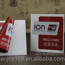 Anti Static Label Printing Manufacturer;Color Printed Static Cling Static Cling Vinyl Film