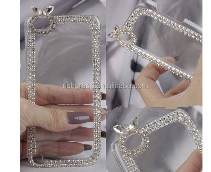 New Fashion Bling Crystal Diamond Hard Cover Case For iPod Touch 5 5th Gen