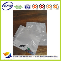 High quality silver plastic bag packaging