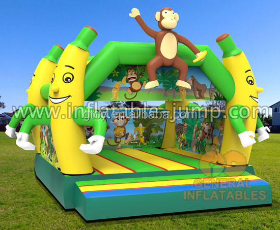 Famous commercial jumping free design custom inflatable bounce
