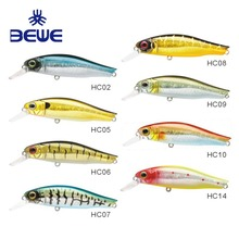 2018 New Minnow Plastic Hard Lure Crankbaits Fishing Lures