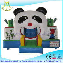 Hansel Large Inflatable Bouncy Castle With Cartoon Animals For Kids Amusement