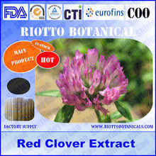 Factory supply pure red clover extract 40%, free sample, no addition