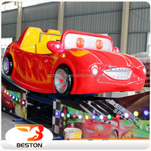 Attractive hot sale amusement park happy racing car,kids mini flying car for sale