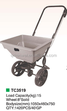 farming seed spreader cart/two wheel garden cart
