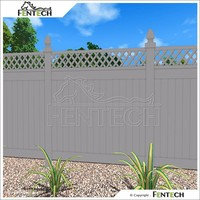 Plastic Grassland Fence Lattice Fence Wall