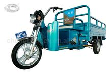 Three wheeler electric tricycle with cargo