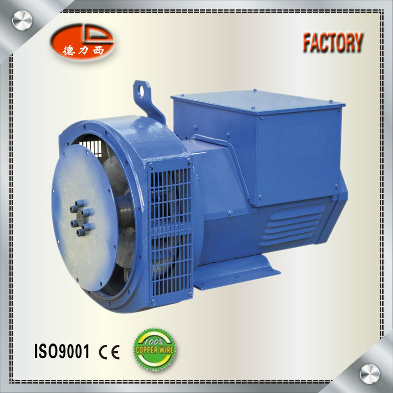 100% Copper Wire Three Phase 60KVA AC Different Kinds Of Alternators