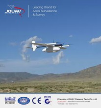Gas engine powered VTOL drone tracking system