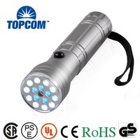 UV Light + Red Laser LED Flashlight 15+1 LED Flashlight Laser