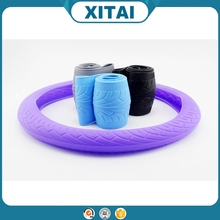 Hot sale Xitai car accessories flexible silicone steering covers art.-no.108