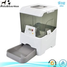 Plastic remote control automatic pet food feeders for dogs