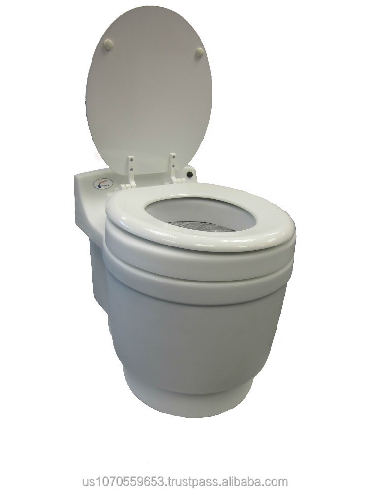 Dry Flush Waterless Chemical-Free Toilet