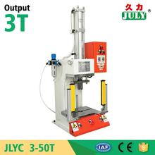 low price JULY manufactory 3 ton manual pneumatic trimming machine