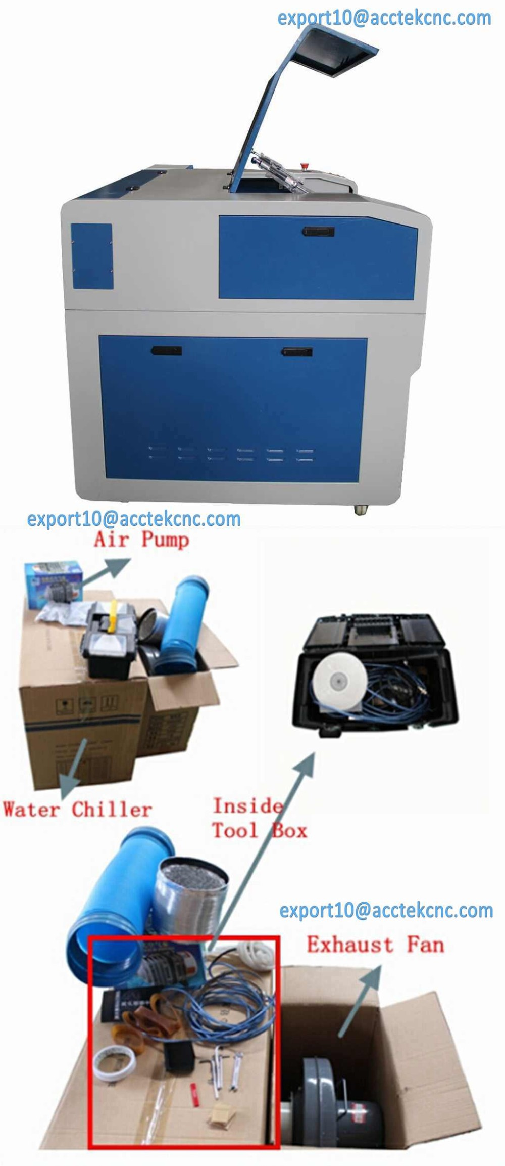 4.Acctek AKJ6090 2016 Hot salemini CO2 laser engraving machine factory price machine details and accessories.jpg