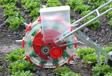 corn /bean /peanuts seeder plant tool , Easy operate handle push seeding plant machine