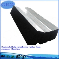 Free Sample Customized Coated Foam Rubber From Professional Manufacturer