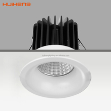 Bathroom Cut size 65mm IP44 Die Casting 5w 6w 7w 8w 10w COB LED Ceiling Light spotlight