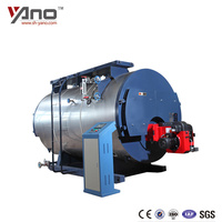 Easy Installation DZL Series 3 Pass 1ton Steam Boiler