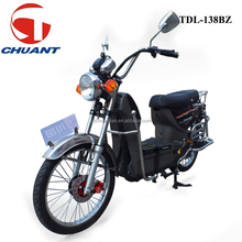High performance electric moped bicycle 450w brushless with big cargo loading TDL138BZ