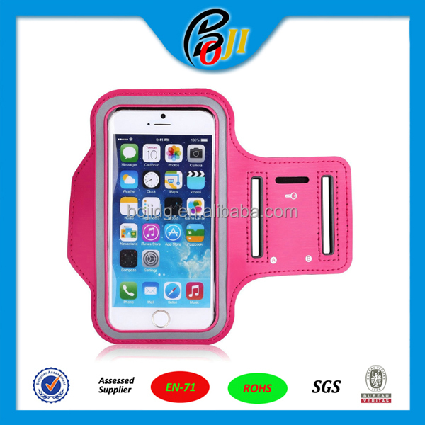 Universal Sports Armband Gym Running Jog Case Arm Holder for iPhone 4 4s 5 5s 5c 6 6 plus For Samsung Galaxy S3 S4 S5 S6 For HTC
