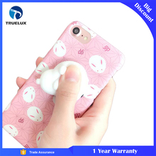 Creative Slow Rising Squishy Soft TPU Material Back Cover Japan Elements Doll