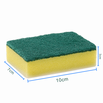 Round pop up sponges, non-abrasive cleaning scouring pad, pu foam cleaning colourful sponge