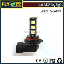 Auto car LED lamp 9005 HB3 model 18SMD White Fog Light Lamp Bulb Super Bright H10 9140 for day time light