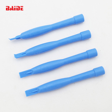 Light Blue Plastic Pry Tool Crowbar Spudger Cylindrical Opening Tools for iPhone 4 5 6S 7 Plus Phone Repair