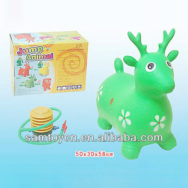 All kinds of kids inflatable bouncing animal toy