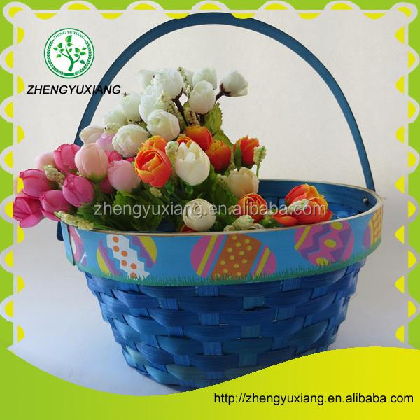 Basket Weaving Gifts : Bamboo weaving gift basket use for christmas festival
