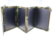 Folding Foldable Portable Solar Panel Mobile Phone Charger for Camping