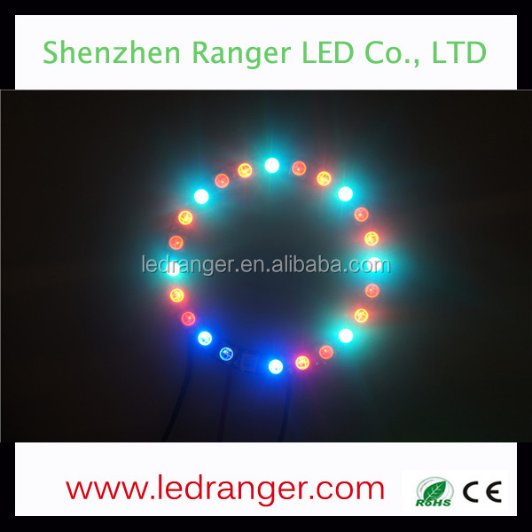 LED Pixel Ring WS2812B NEON PIXEL RING, Rigid LED Ring for clothes