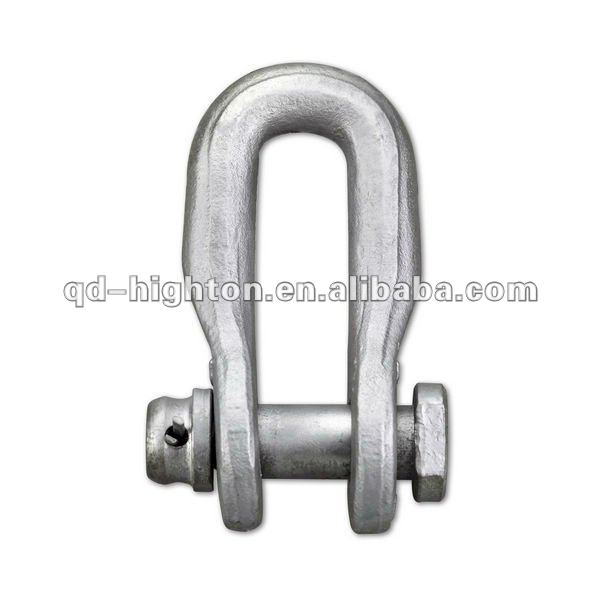 Hot galvanized Forged Safety Shackle