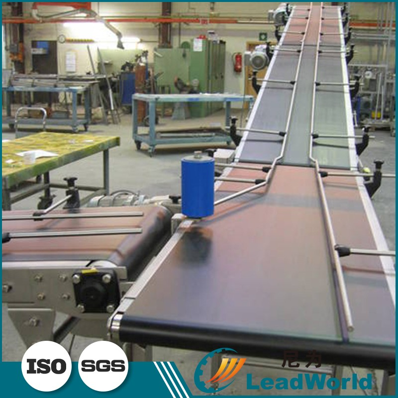 Latest Design Flat Belt Conveyor / PVC Conveyor Belt