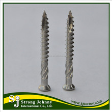 Low price wholesale decking double threaded wood screws