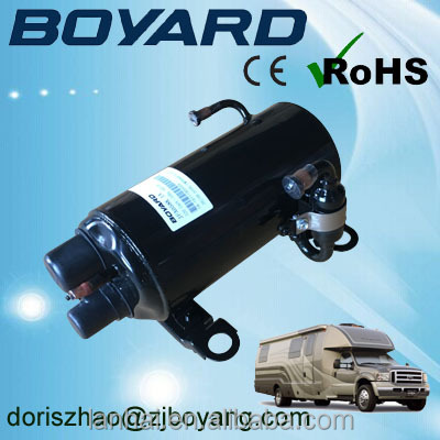 Boyard <strong>R134A</strong> R407C R410A 115V/60HZ horizontal roof mounted <strong>ac</strong> <strong>compressor</strong> KFA092T 9000 BTU for truck cabin air conditioner