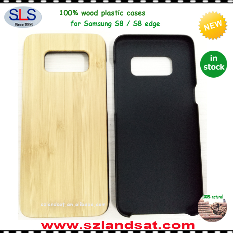 2017 Unique engraved design for wooden case for Samsung Galaxy S8 plus